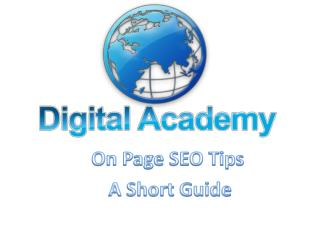Seo training institute in Pune