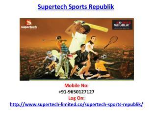 Supertech Sports Republik Housing Project