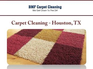 Carpet Cleaning - Houston, TX
