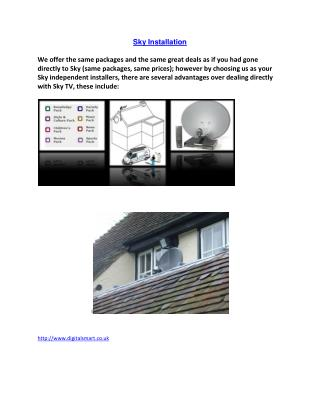 Sky Installation experts Independent Sky Installers