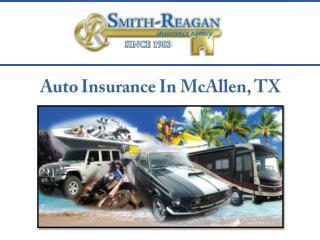 Auto insurance In McAllen, TX