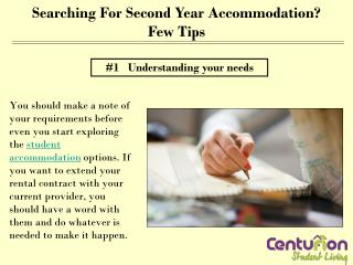 Searching for second year accommodation? Few tips