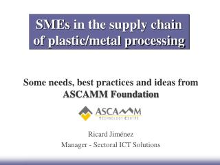 y chain of plastic/metal processing