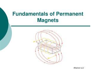 Fundamentals of Permanent Magnets