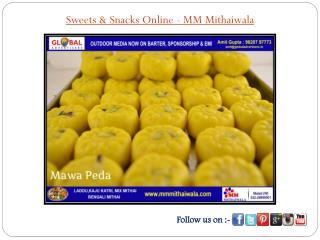 Sweets & Snacks Online - MM Mithaiwala