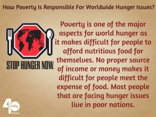 4 Major Aspects That Are Responsible For World Hunger