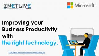 Business productivity suite – office 365