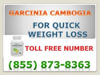 (855) 873-8363 No Diet, No Exercise - Garcinia Cambogia Extract Supplements