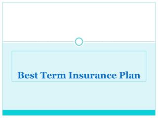 Five Lessons for Term Insurance Buyers