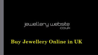 Buy Jewellery Online in UK