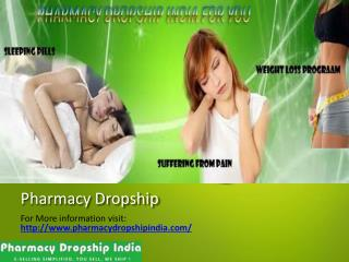 Pharmacy Dropship