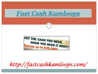 Bad Credit Car Loans kamloops