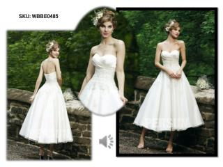 Cheap short Wedding Dresses UK 2015
