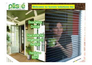 Buying Custom retractable Screens in Austin at Screen Solutions Inc