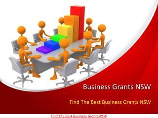 Best Business Grants NSW
