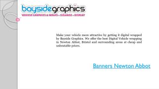Banners Printing Services In Newton Abbot