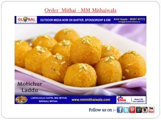 Order Mithai - MM Mithaiwala