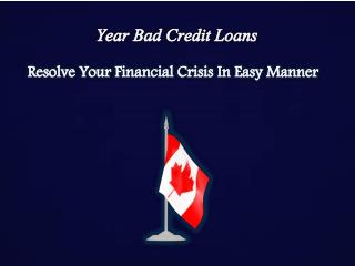 1 Year Bad Credit Loans: Now Bad Credit Holders Can Also Get Finance For One Year