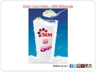 Order Lassi Online - MM Mithaiwala