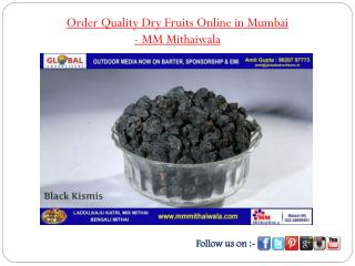 Order Quality Dry Fruits Online in Mumbai - MM Mithaiwala