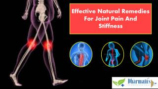 Effective Natural Remedies For Joint Pain And Stiffness