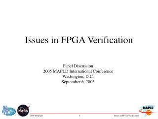 Issues in FPGA Verification