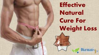 Effective Natural Cure For Weight Loss