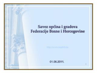 Savez opcina i gradova Federacije Bosne i Hercegovine    sogfbih.ba