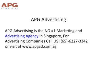 Best apg digital advertising agency singapore