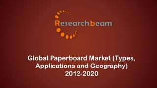 Global Paperboard Market Size, Share, Trends, Demand, Insights, Analysis, Opportunities 2012 - 2020