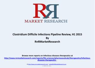 Clostridium Difficile Infections Pipeline Review, H1 2015