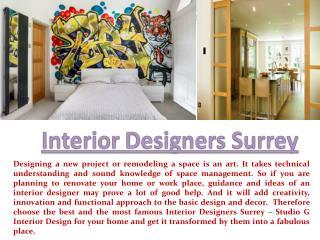 Interior Designers Surrey