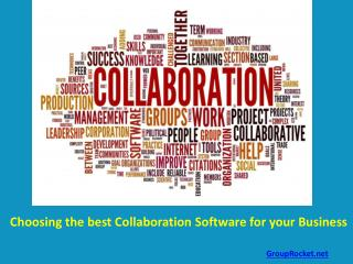 Choosing Best Collaboration Software for your Business