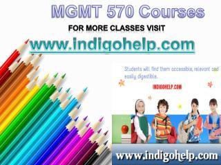 MGMT 570 Courses/Indigohelp
