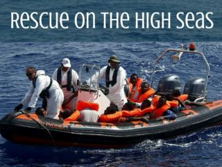 Rescue on the high seas