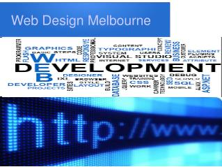 Web Design Melbourne offering web hosting and E-commerce web development services