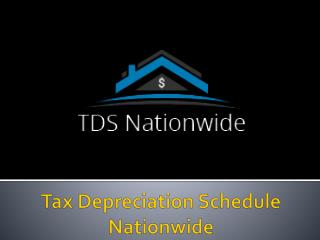 Tax Depreciation Schedule In  Australia