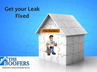 Toronto Roofing Contractors - Get Your Leak Fixed