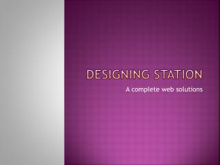 Web Designing Services Delhi