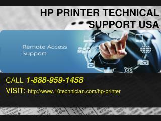 HP Printer Tech Supprt To Fix Paper Jam Error