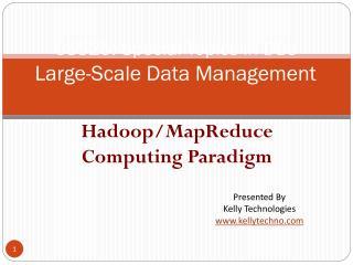 Hadoop training in Bangalore