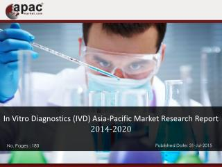 In Vitro Diagnostics (IVD) Asia-Pacific Market Research Report, 2014 - 2020