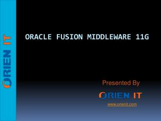 Orien IT - The best Oracle and Hadoop institute in Hyderabad
