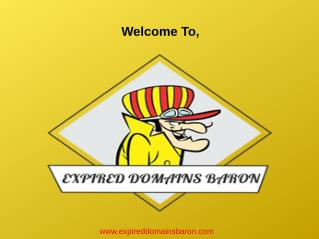 Buy Expired Domains | Expired Domains List Finder | Cheap Expired Domains