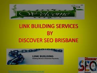 SEO Link Building Services in Brisbane