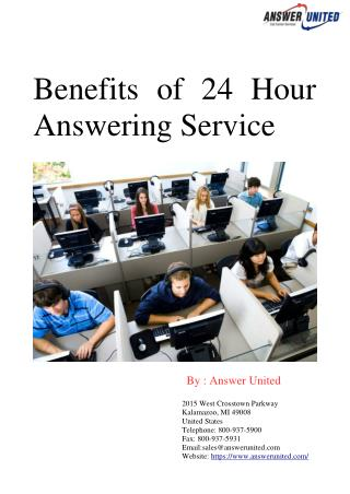 Benefits of 24 Hour Answering Service