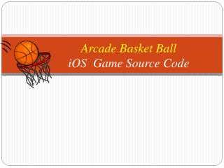 Arcade Basketball Shots Sports Game Source Code