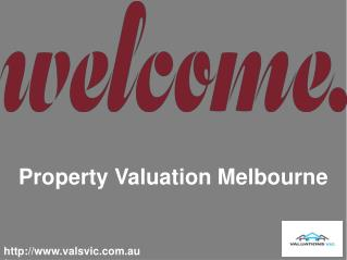 For Legal Valuation with Valuation VIC