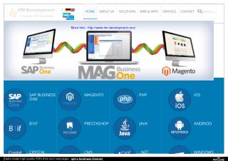 MAGB1, e-Commerce Magento - Itm development