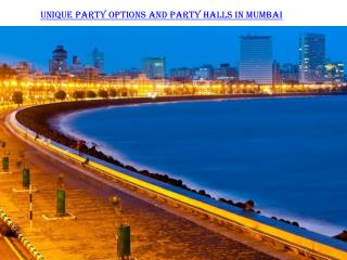 Party halls in Mumbai